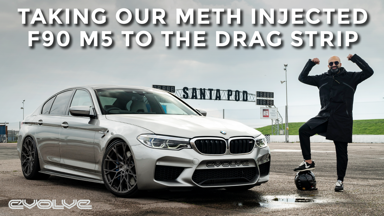 Drag Racing our Stage 2 + Meth Injection F90 M5