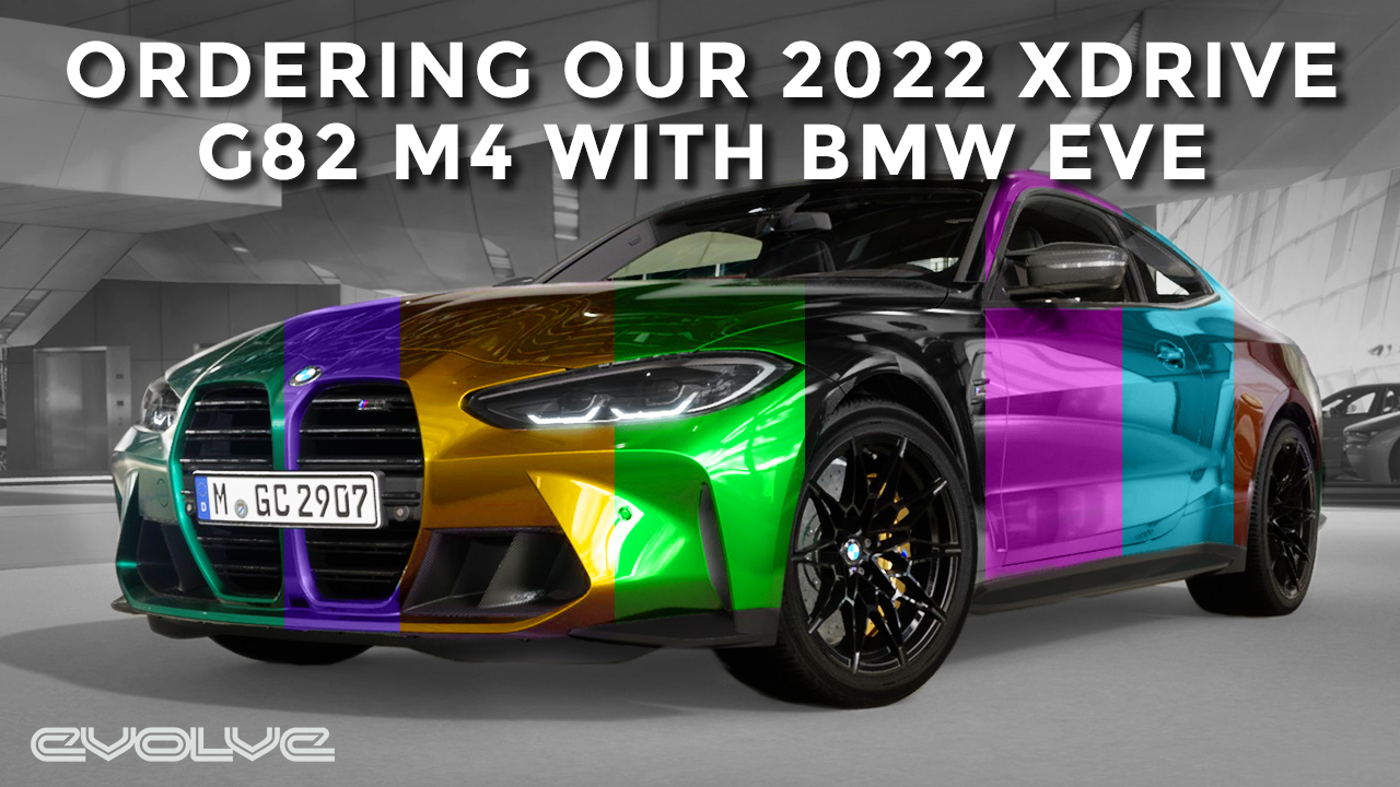Ordering our 2022 G82 M4 xDrive with BMWs new EVE VR configurator