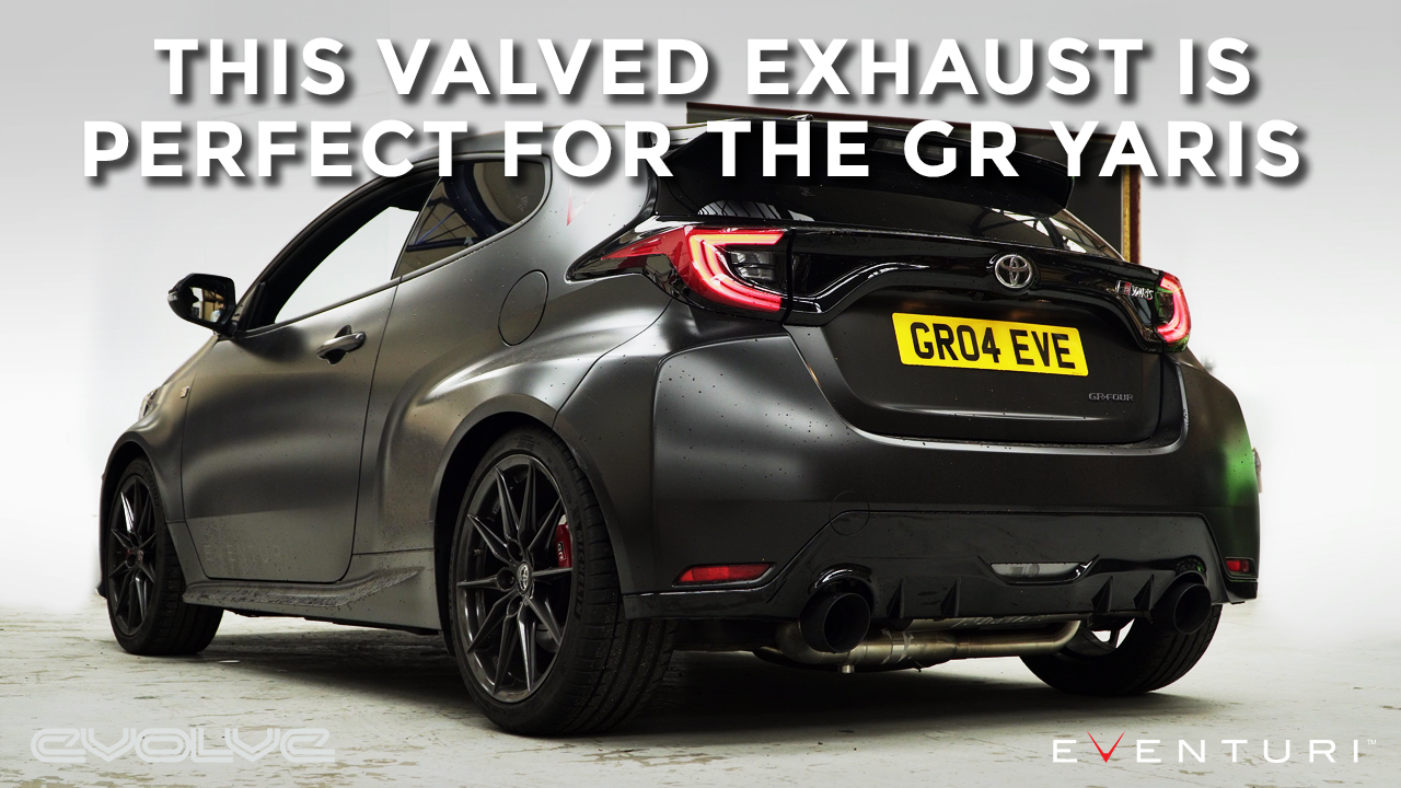The GR Yaris needs a valved exhaust - Aulitzky OPF Back
