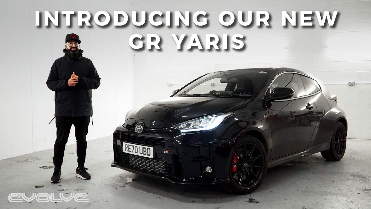 Introducing our GR Yaris Project Car!