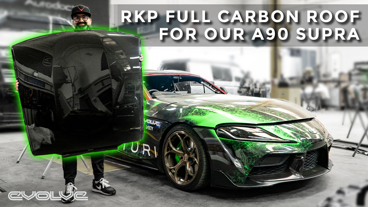 Cutting the roof off our Supra - RKP Carbon Fiber Roof Install