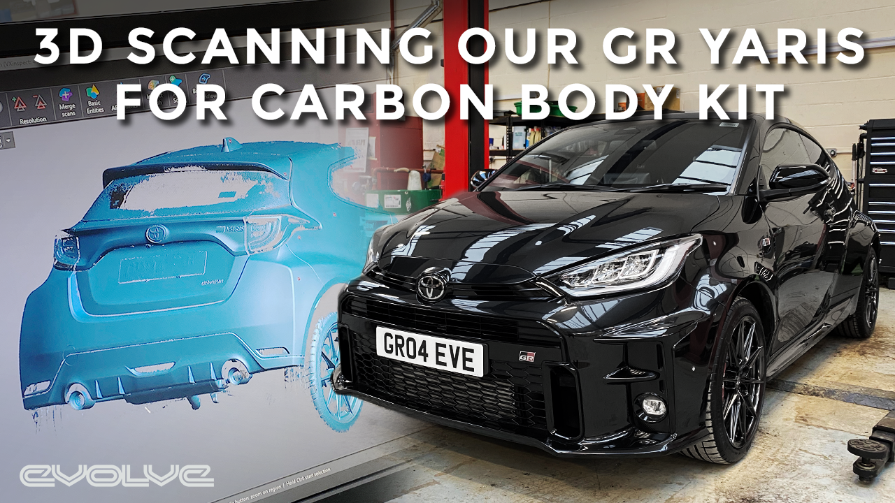 3D Scanning our GR Yaris - Evaero Carbon Body Kit