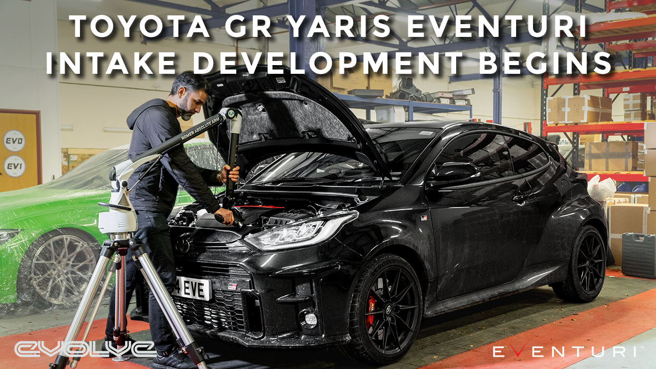 GR Yaris Eventuri Development Begins! - Teardown + 3D Scanning