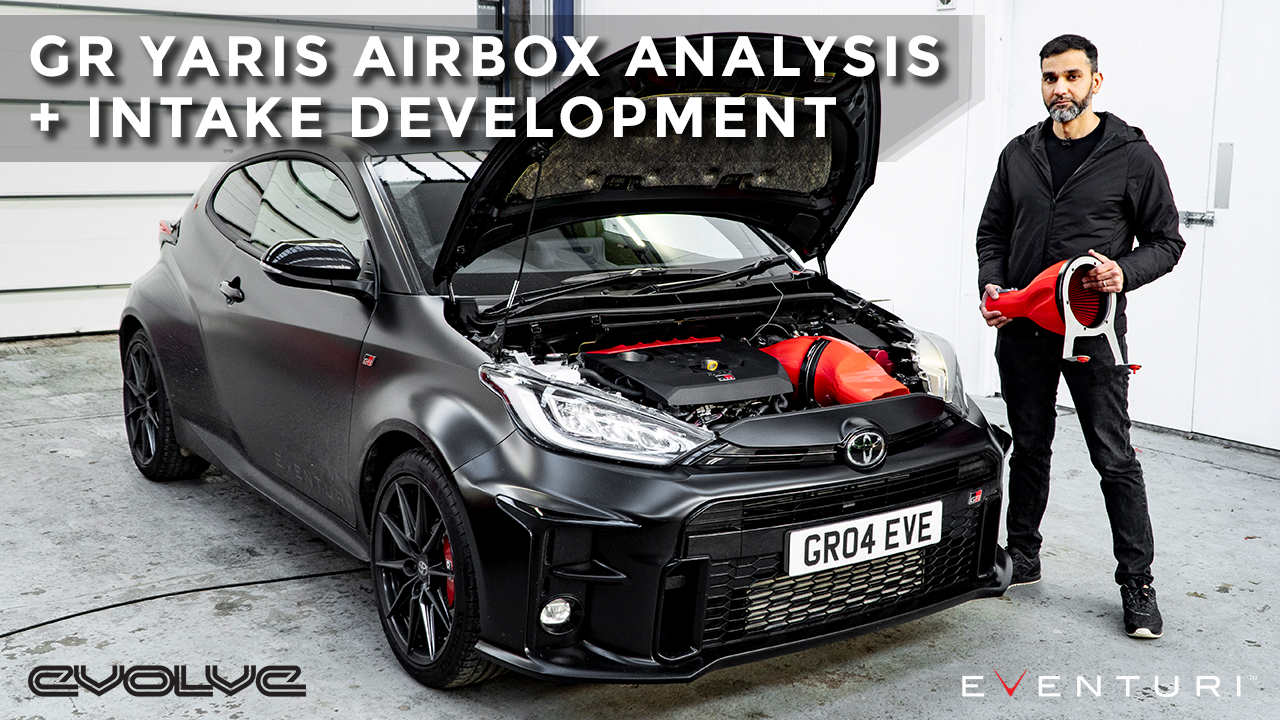 Releasing the GR Yaris' Turbo Sounds! Eventuri Intake Development