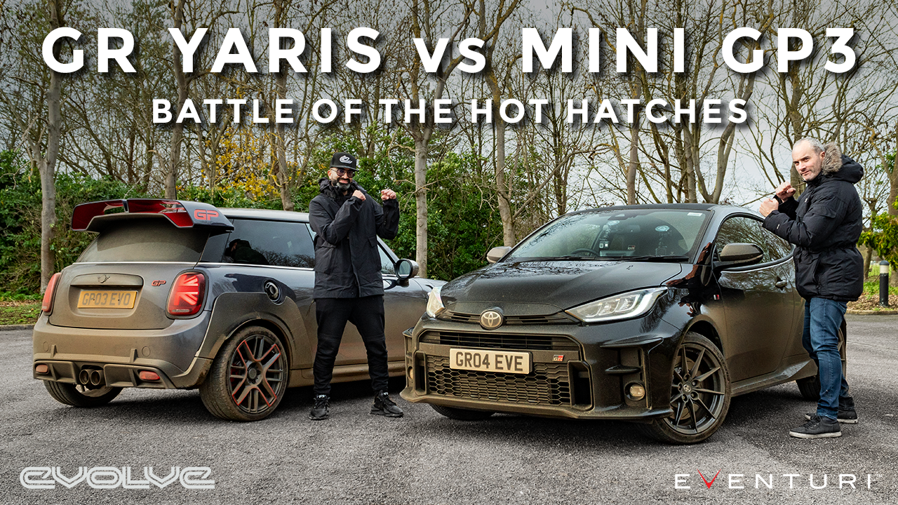 Toyota GR Yaris vs F56 Mini GP3 - The Hot Hatch Battle of 2020 with @Joe Achilles
